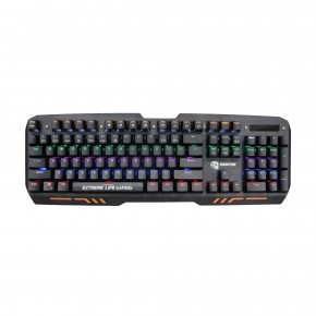 teclado gamer mecanico 104 teclas led iluminado mechanical shooter tgms elg 1