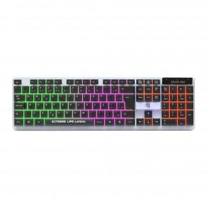 teclado gamer membrana tripla 114 teclas iluminado killer soul tgks elg 1