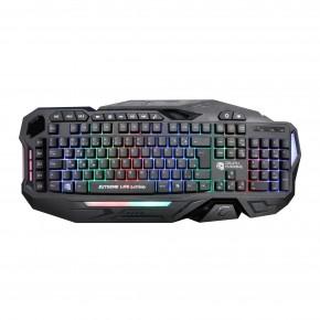 teclado gamer membrana tripla 120 teclas iluminado death machine tgdm elg 1