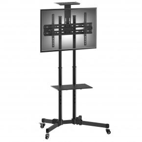 suporte pedestal tv 32 a 75 a06v6 s elg rack de chao piso 5