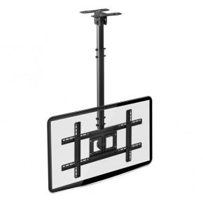 suporte de teto para tv 26 a 75 altura ajustavel a05v6 preto elg 3