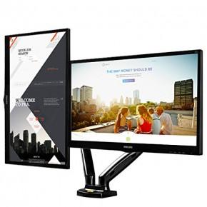 suporte dois monitores articulado ajuste altura f160n elg 3