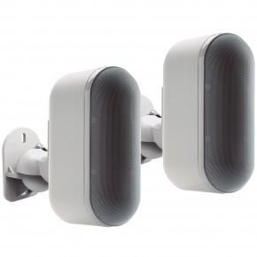 suporte articulado p caixas acusticas par cx01 branco elg 5