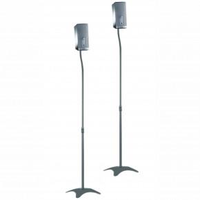 pedestal p caixas acusticas home theater sr11 prata elg 6