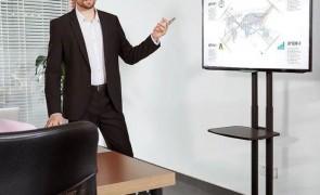 pedestal tv apresentacao